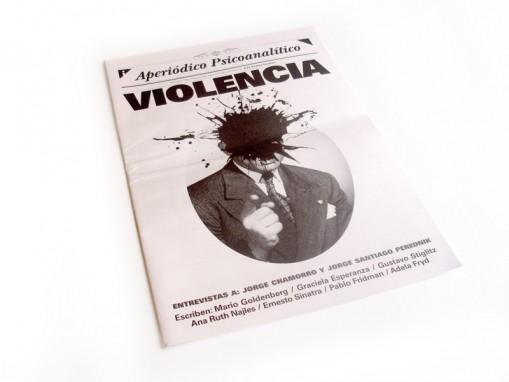Aperiódico Psicoanalítico - violencia