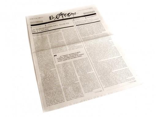 Periódico El Otro - tapa