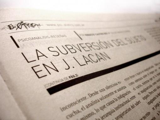 Periódico El Otro - detalle interiores