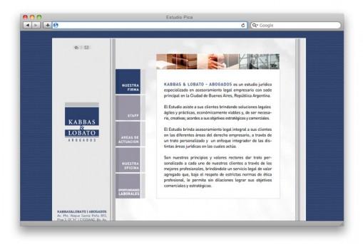Sitio web Kabbas Lobato