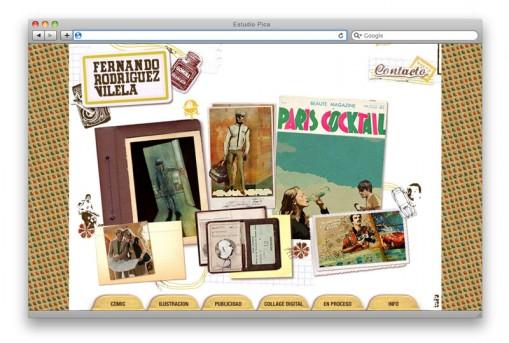 Sitio web ilustrador Lord Gaita - home