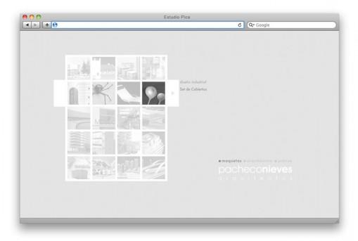 Sitio web Pacheco Nieves - portfolio