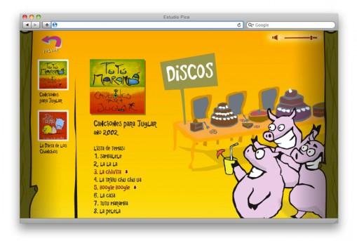 Sitio web de Tutú - 02